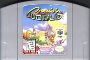 Cruis'n World (USA) Cart Scan